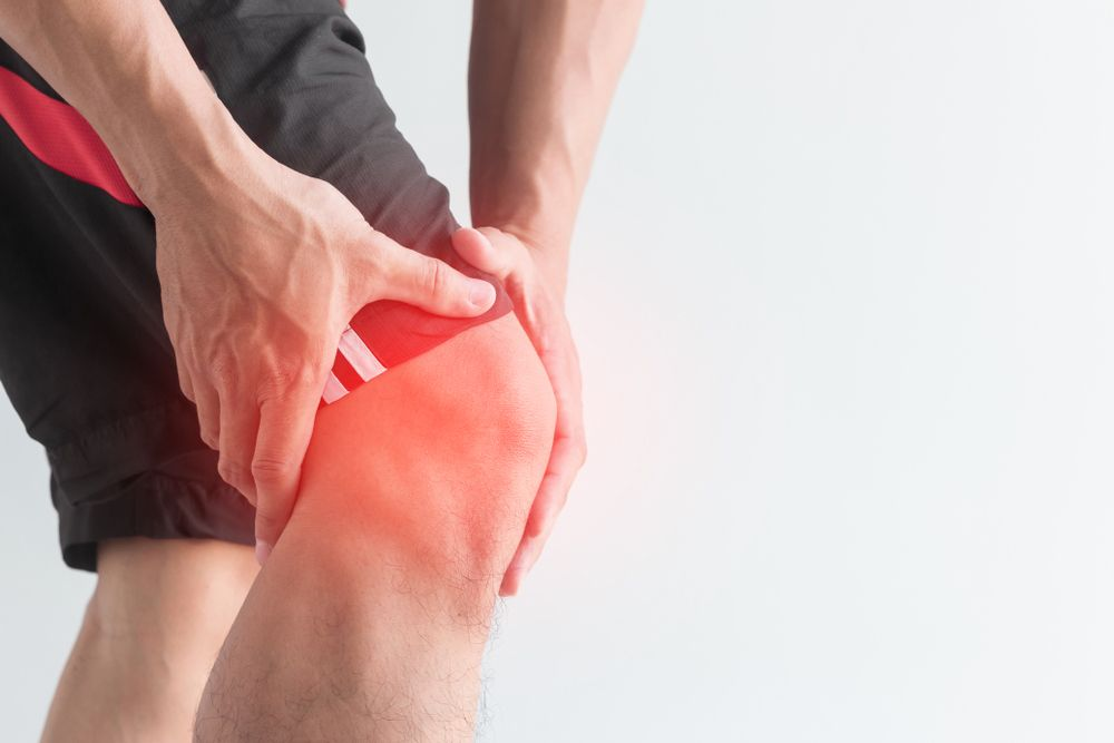 Back of knee pain treatment