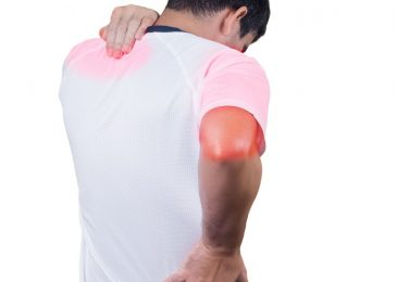 How can you do the upper arm muscle pain treatment