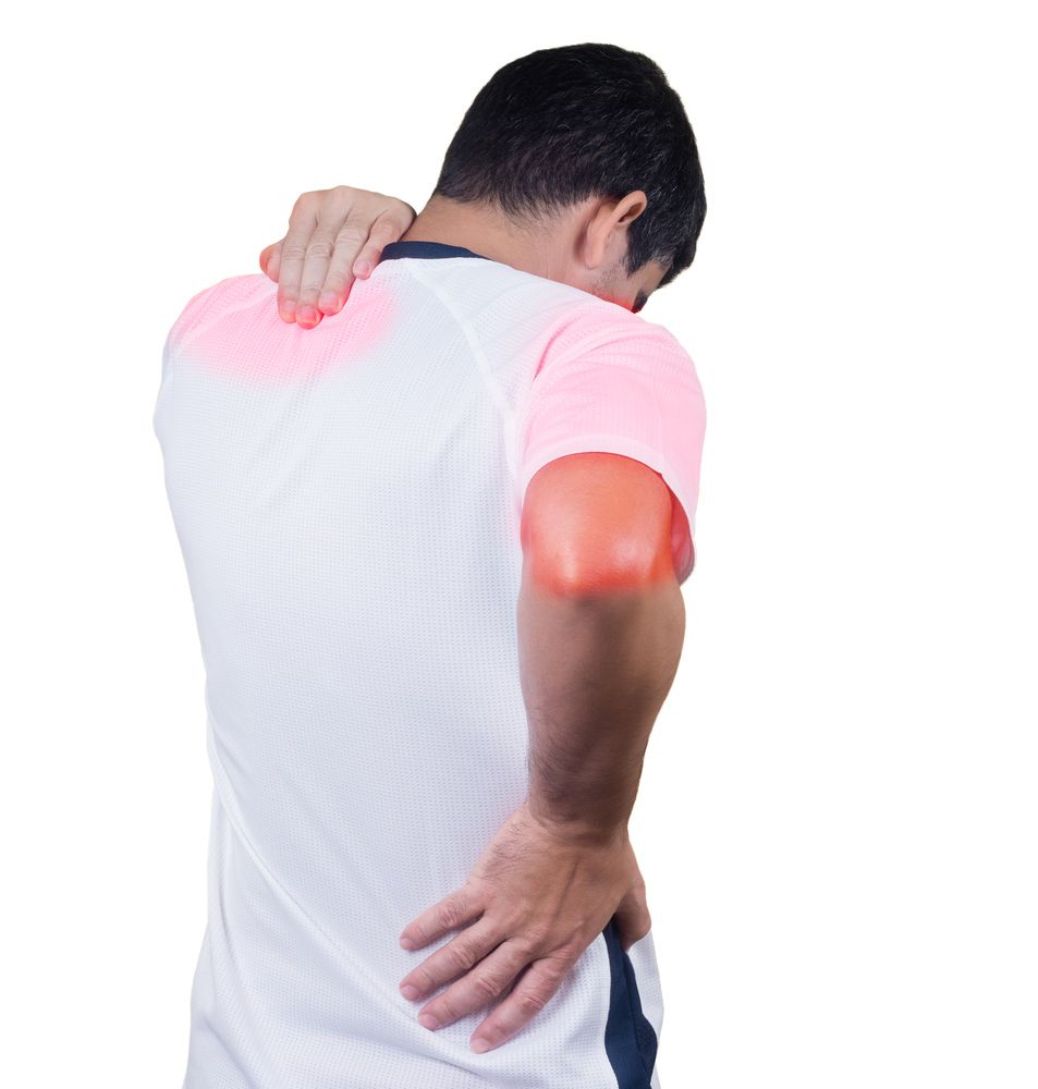 Upper arm muscle pain treatment