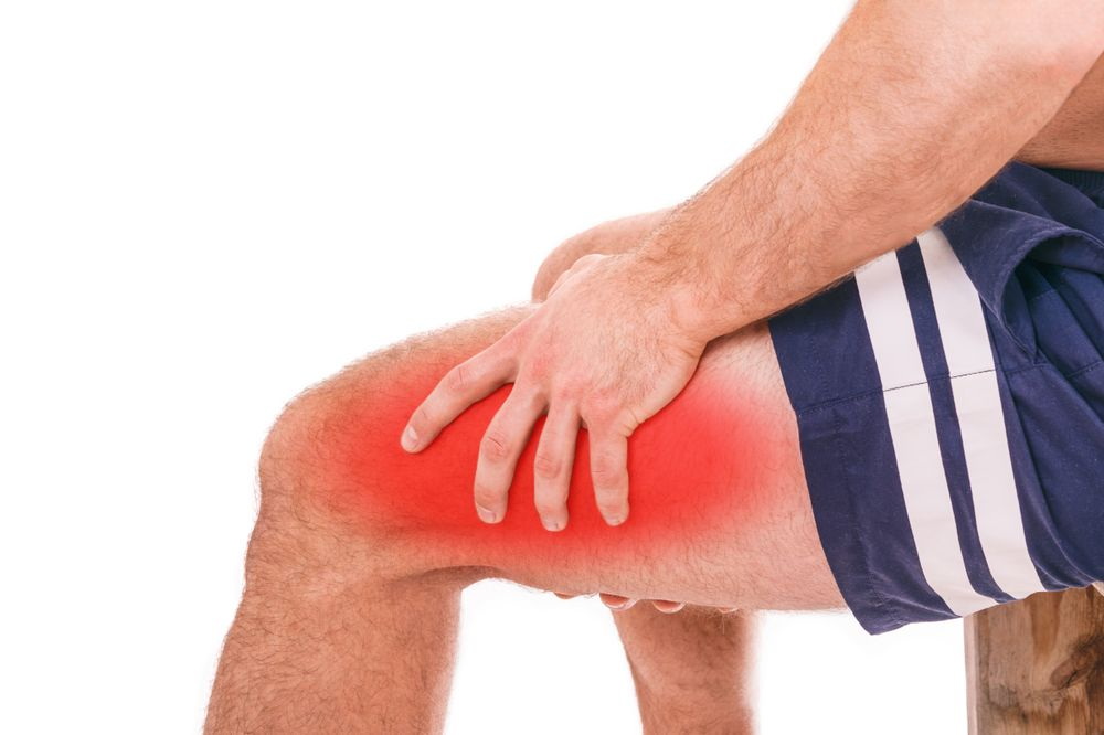 upper thigh muscle pain