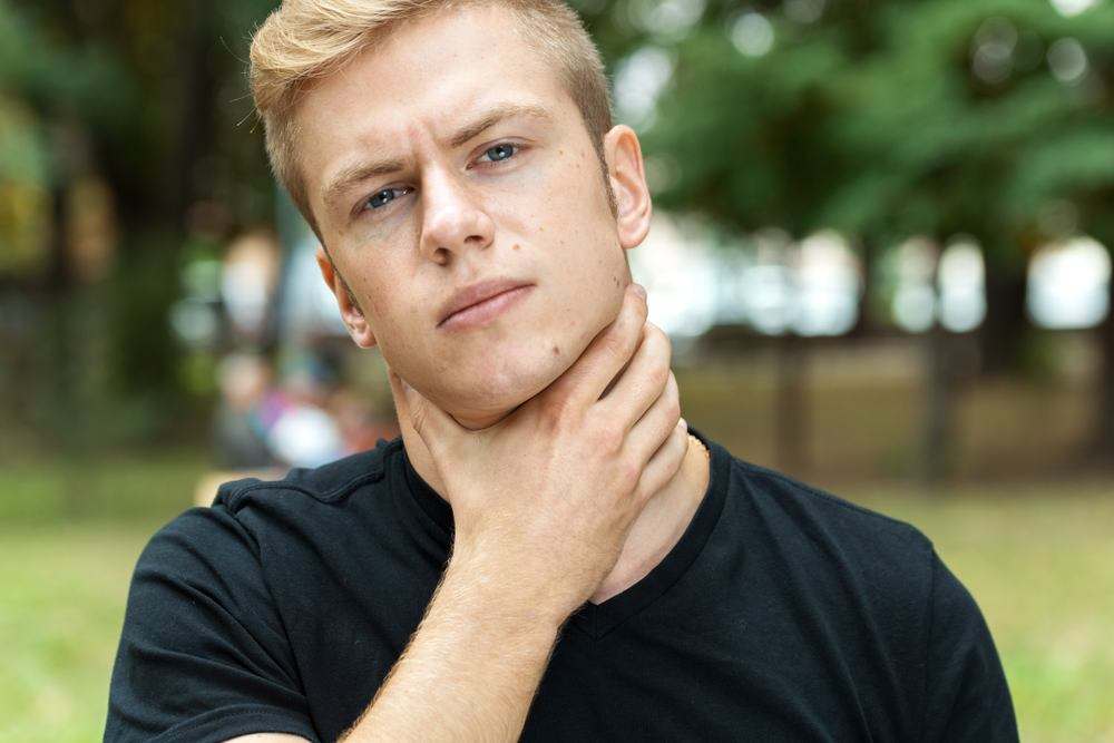 Pain in Neck when swallowing