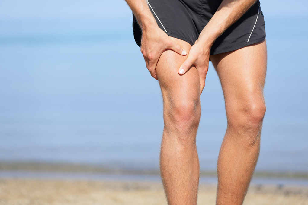 Upper leg muscle pain