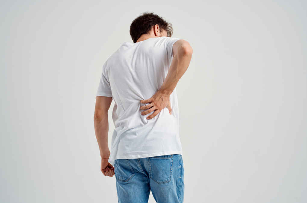 upper back pain and nausea